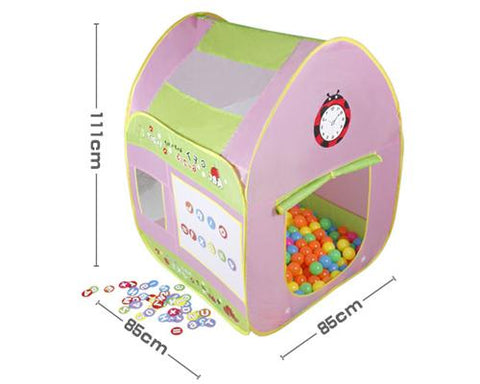 Colorful Large Space Children Play Tent with Learning Cards