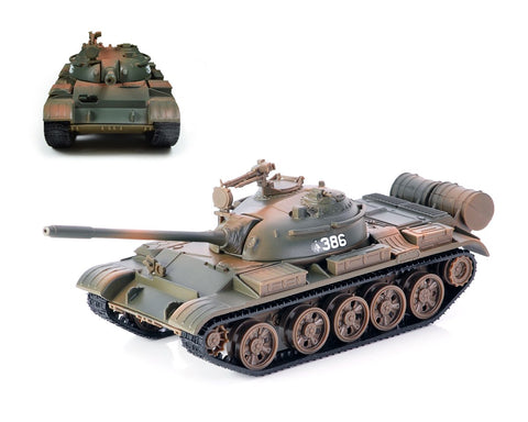Alloy Diecast Soviet T55 Tank 1:43 Toy Model