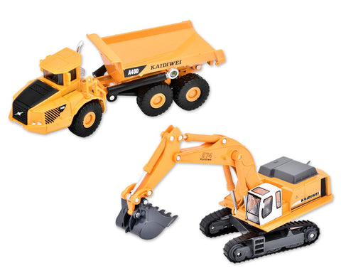Alloy Diecast Truck/Excavator Toy Model