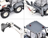 1:50 Diecast Two-Way Excavator Toy Model with Wheels
