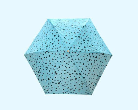 Cartoon Folding UV Protection Umbrella