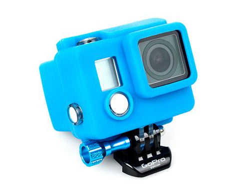 GoPro Silicone Case Cover for Hero 3+ / Hero 3 Plus Camera - Blue