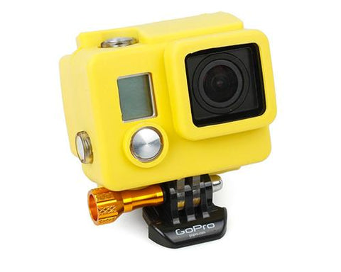 GoPro Silicone Case Cover for Hero 3+ / Hero 3 Plus Camera - Yellow
