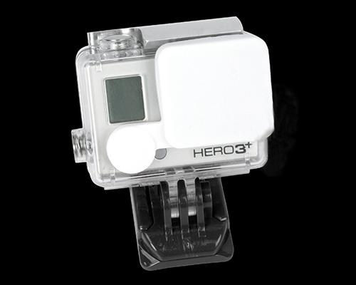 GoPro Lens Protective Silicone Cap for Hero 3+ Camera Housing - White