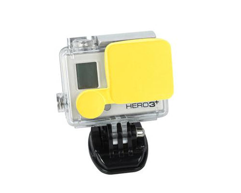 GoPro Lens Protective Silicone Cap for Hero 3+ Camera Housing - Yellow