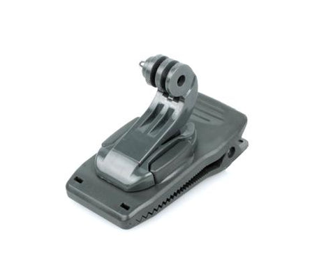 GoPro Backpack Clamp Clip w/ J-Hook Buckle for Hero Cameras - Gray