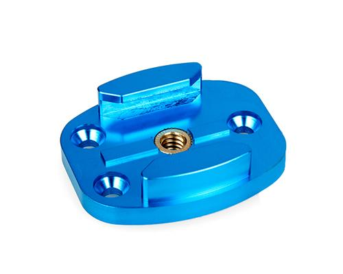 GoPro Snowboard Flat Surface Mount for Hero 1/2/3/3+/4 Camera - Blue