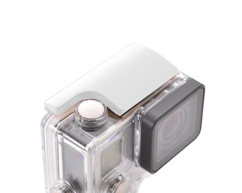 GoPro Aluminum Snap Latch Waterproof Housing Lock for Hero 3+/4-Silver