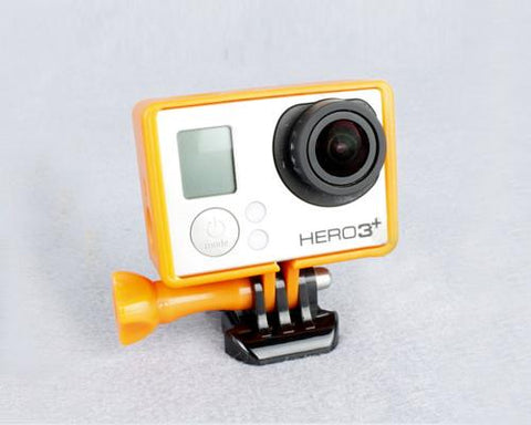 GoPro Border Standard Frame Mount for Hero 3 / 3+ / 4 Camera - Orange