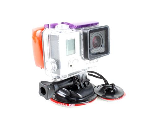 GoPro Anti Sink Floaty / Surfboard Mount Kit for Hero Camera - Black