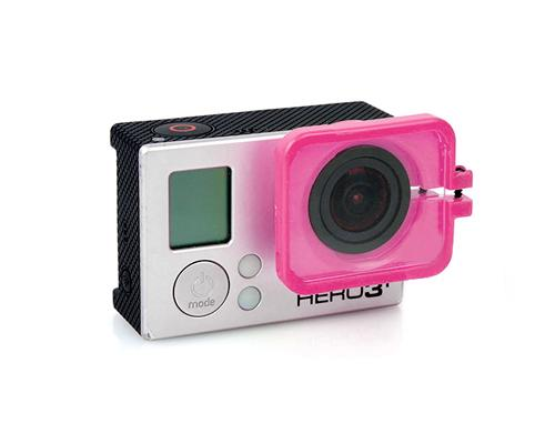GoPro FPV Protective Lens Cover for Hero 3 / 3+ / 4 Camera - Pink