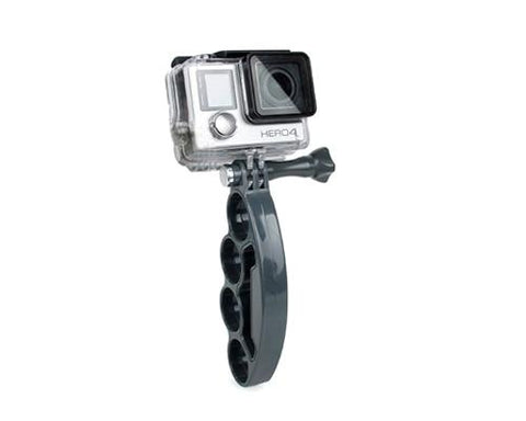 GoPro Finger Grip Holder Stabilizer Mount for Hero Camera - Gray