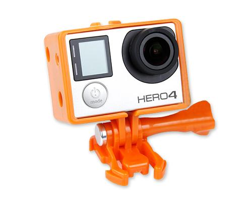 GoPro Bacpac Extension Edition Frame for Hero 3/3+/4 Camera - Orange