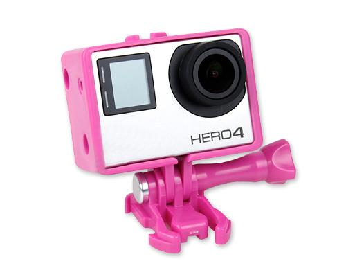 GoPro Bacpac Extension Edition Frame for Hero 3/3+/4 Camera - Pink