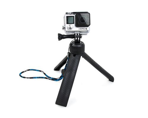 GoPro 360 Degree Mini Tripod Hand Grip w/ Screw for Hero Camera -Black