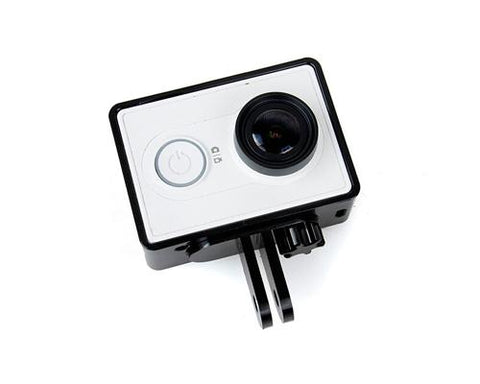GoPro Style Frame Mount for Xiaomi Yi Sport Cam Action Camera - Black