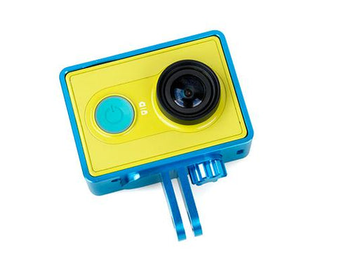 GoPro Style Frame Mount for Xiaomi Yi Sport Cam Action Camera - Blue