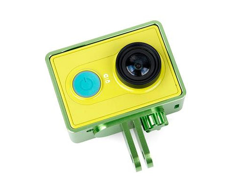 GoPro Style Frame Mount for Xiaomi Yi Sport Cam Action Camera - Green