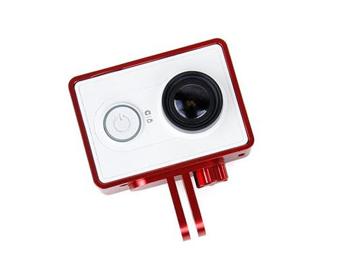 GoPro Style Frame Mount for Xiaomi Yi Sport Cam Action Camera - Red