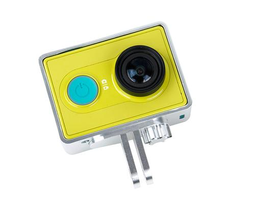 GoPro Style Frame Mount for Xiaomi Yi Sport Cam Action Camera - Silver
