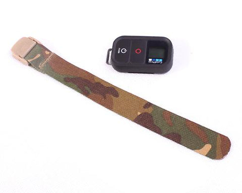 Nylon Belt for GoPro Hero 3/ 3+ / 4 Wifi Remote - Retro Camo Green