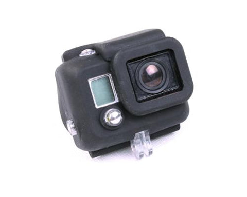 GoPro Silicone Case Housing for Hero 3 Black Edition w/ BacPac