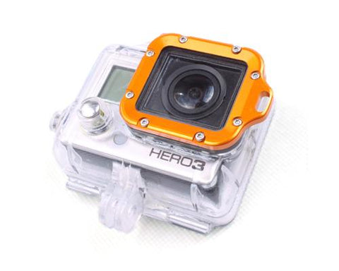GoPro Aluminum LANYARD RING Mount for Hero 3 Black Edition - Gold