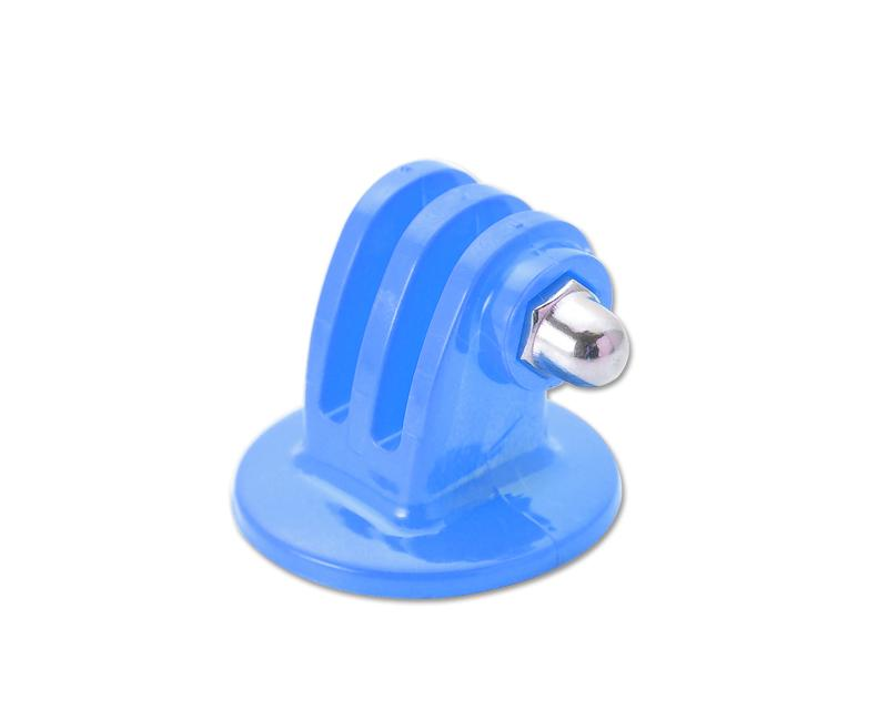 GoPro Tripod Mount Adapter for All Hero 1/2/3/3+/4/4 Cameras - Blue