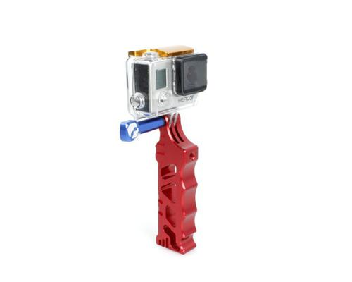 GoPro Aluminum Tactical Tripod Mount Hand Grip for Hero Camera - Red