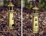 Metallic Lighthouse Model Decoration