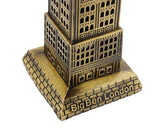 Metallic Big Ben Tower Model Statue Decoration