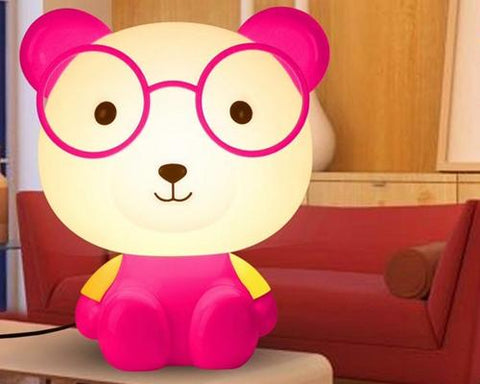 Cute Cartoon Nursery Night Light-Pink Bear