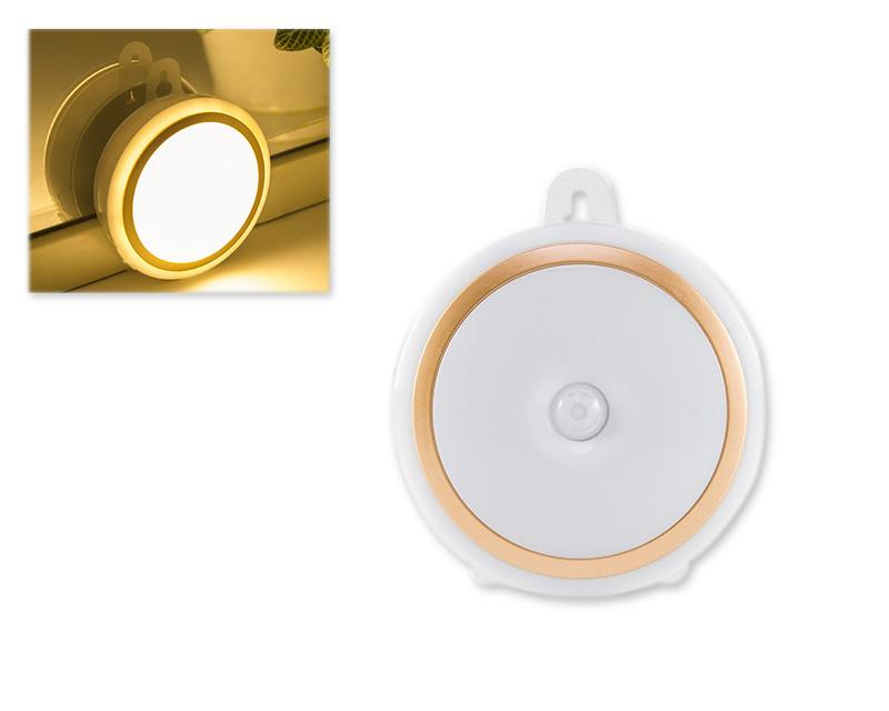 Round Series Battery Operated LED Light with Motion Sensor - Yellow