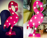 Flamingo Shaped LED Table Lamp