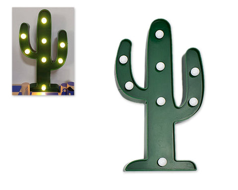 Cactus Shaped LED Table Lamp