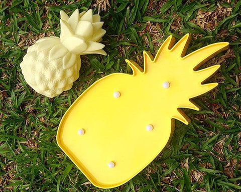 Pineapple Shaped LED Table Lamp