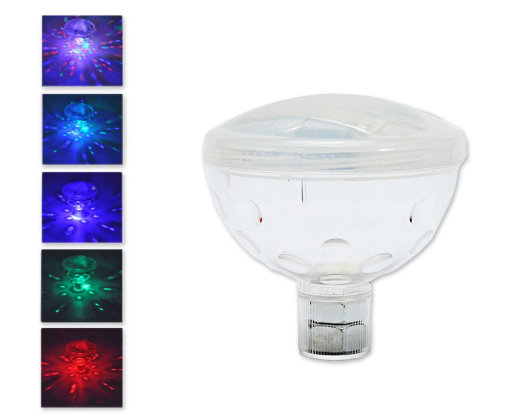 Color Changing LED Glow Light with 5 Models for Bath