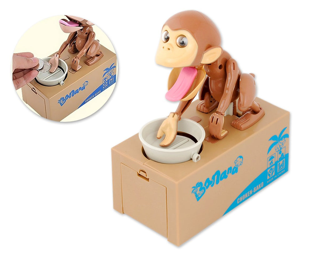 Monkey Bank Money Saving Box