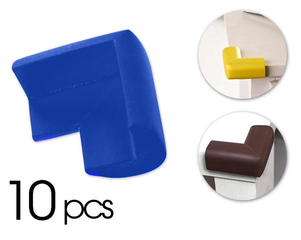 10 Pcs Child Furniture Safety Corner Guards- Blue