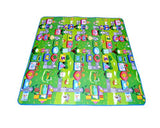 200x180 1cm Thick Two Sided Foldable Waterproof Baby Crawling Mat - B