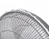 40 x 15 cm Safety Fan Protection Cover Net - White