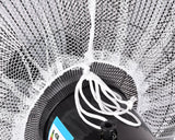 50 x 15 cm Safety Fan Protection Cover Net - White