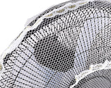 50 x 15 cm Safety Fan Protection Cover Net - White Lace
