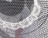 50 x 20 cm Safety Fan Protection Cover Net - White Lace