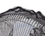 60 x 20 cm Safety Fan Protection Cover Net - Black
