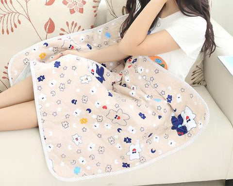 Anti-Radiation Maternity Clothes Mom Protection Belly Apron Blanket -B