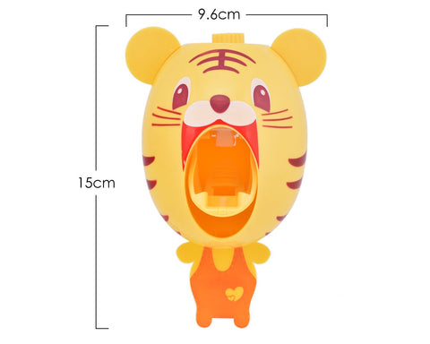 Creative Cute Cartoon Toothpaste Dispenser - Tiger