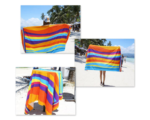 1.4 meters Fiber Printing Sunbathing Beach Towel