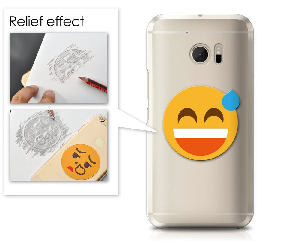 Emoji Series HTC 10 Case - Sweat Smile