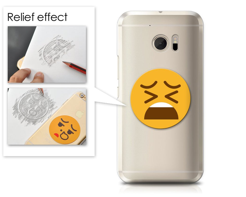 Emoji Series HTC 10 Case - Tired